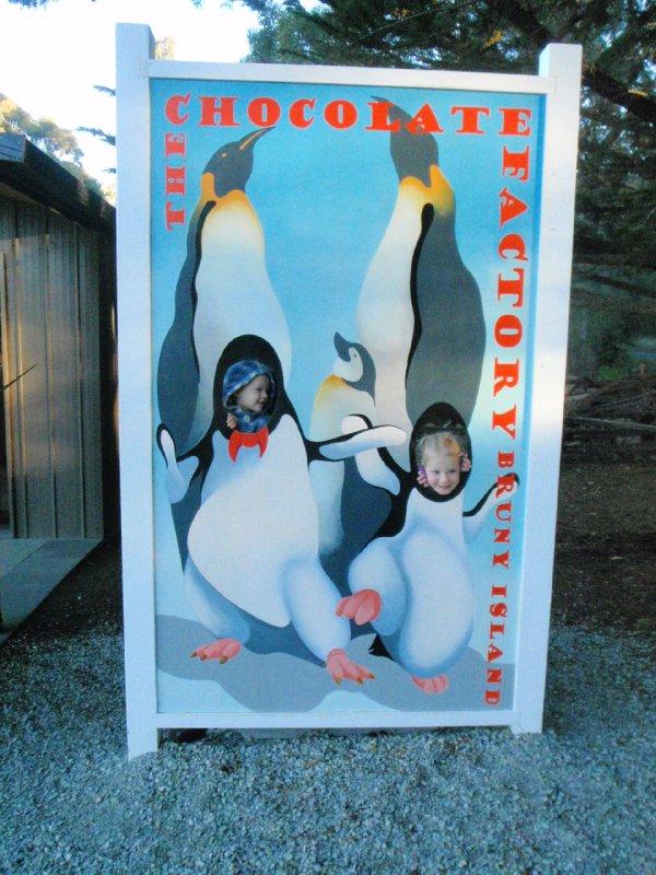 Our 2 little penguins!