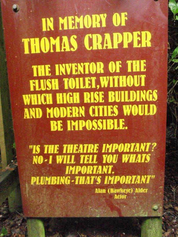 Thomas Crapper