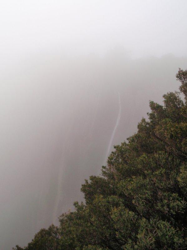 Ralph's Falls through fog