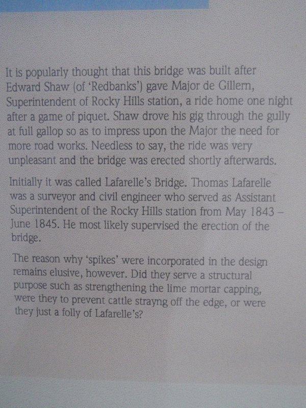 Spiky Bridge History