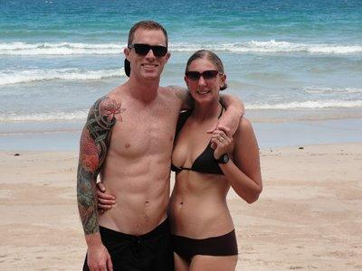 1st Beach day