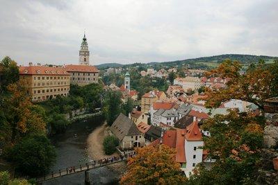 View of Cesky Krumlov