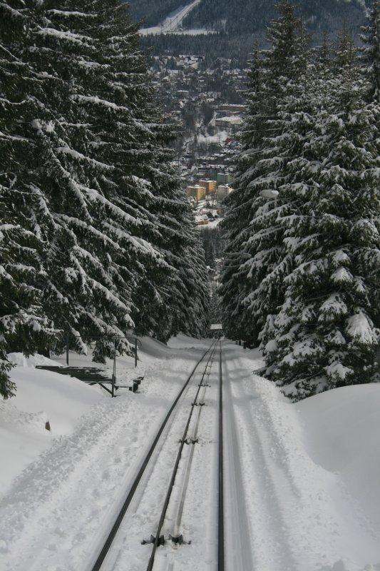 Fernicular track