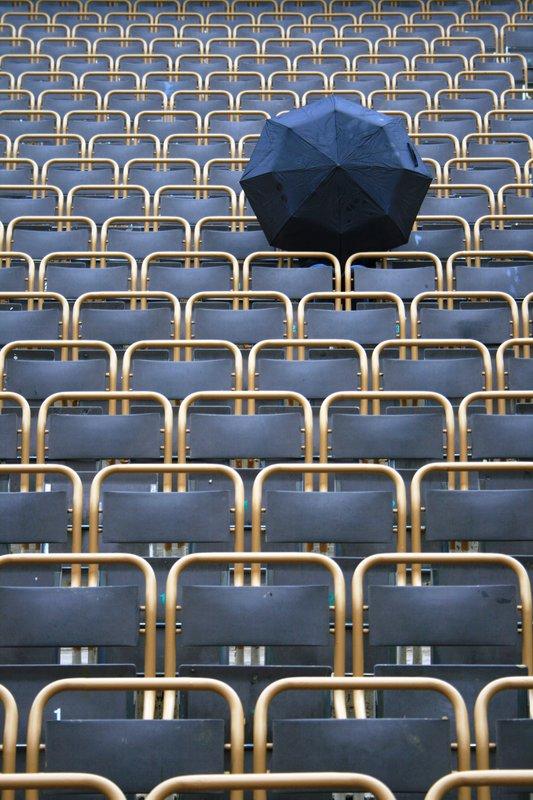 Lone Umbrella