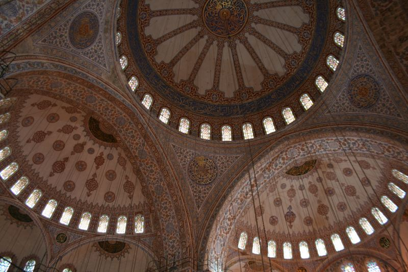 Ceiling, Blue Mosque