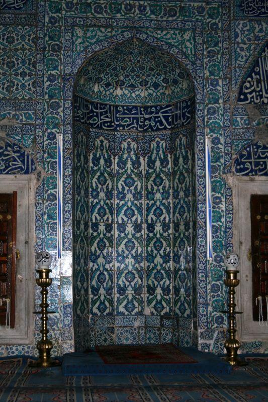 Interior of Cinili Camii, Uskudar