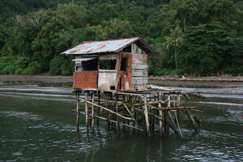Ramshackled shack
