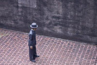 A strange man inside Intramuros
