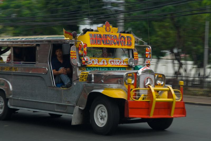 A Jeepney in Manila