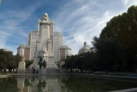 Plaza de Espana in madrid