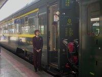 the train from Chengdu to Lasha