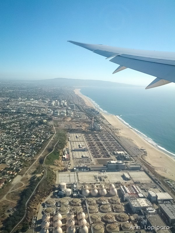 Leaving LAX.