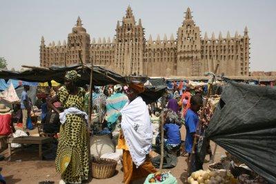 market in Djenne 2