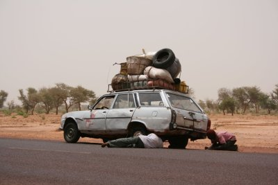 west African bush taxi