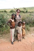 Me in Key Afar with kids