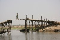 a bridge in Mopti