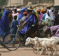 Fulani man on Djenne's market