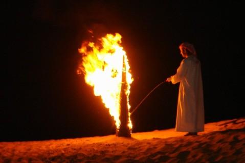A Firestarter in Dubai