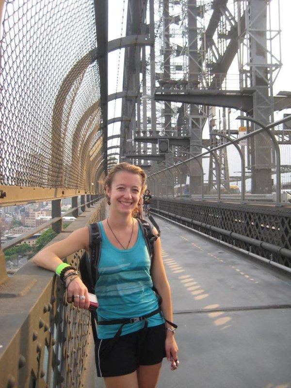 On the Harbour Bridge