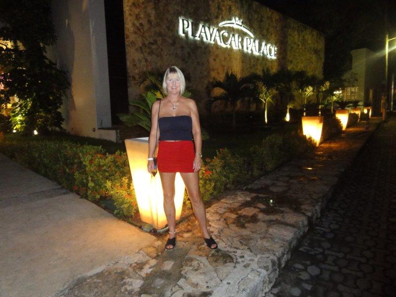Barbara at Playacar Palace