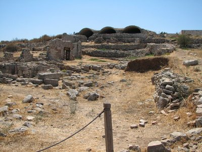 Roman public bath house, Aptera