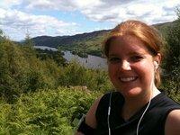 Highland running Loch Oich Invergarry