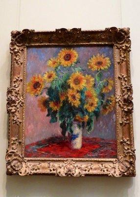 Claude Monet - Bouquet of Sunflowers - The Met