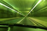 """Going through the Central Artery/Tunnel (""""Big Dig"""" )"""