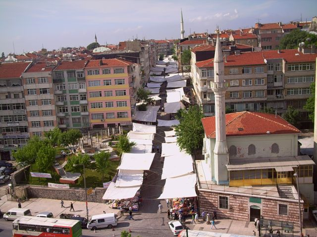 From hotel window in Istanbul