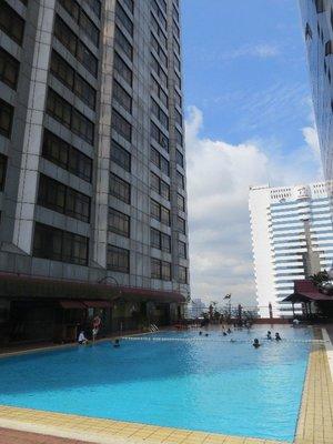 Pool at JB hotel