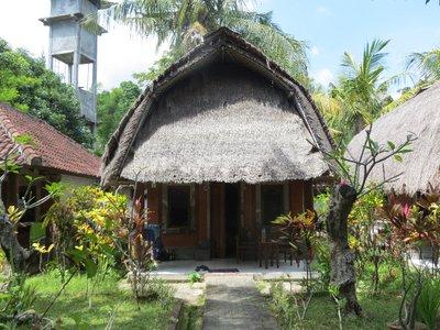 Our hut in Lovina
