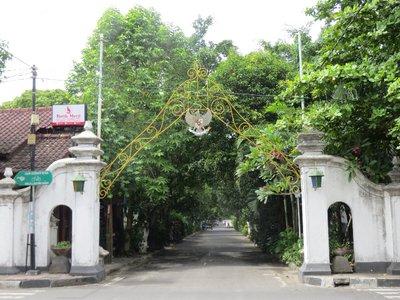 Green streets of the Kraton, Yogya