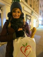 French Shopping - The Baguette is a necessity