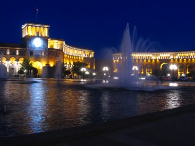 Yerevan by night