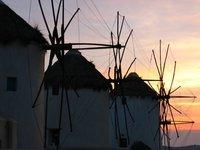 Windmills - Mykanos