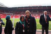 Old Trafford Stadium Tour, Manchester UK