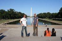 Reflecting pool, Washington DC