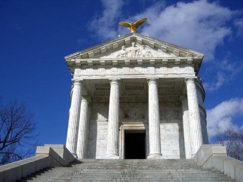 Illinois State Monument at Vicksburg, Mississippi Battlefield Memorial