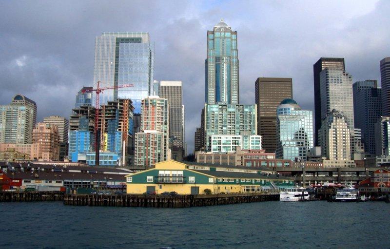 Seattle From Elliot Bay