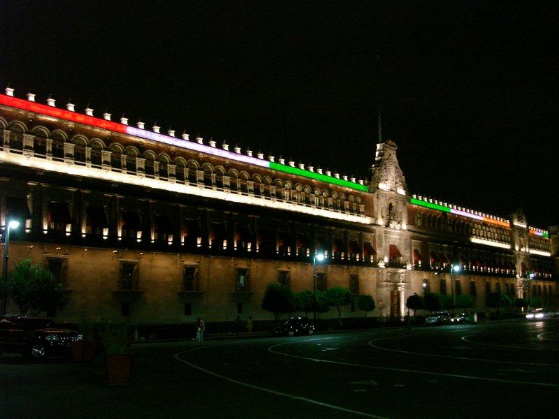 Palacio National by Night
