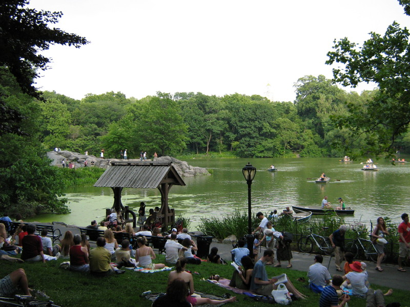 Afternoon concert in Central Park