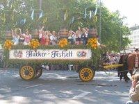 Munich - Oktoberfest parade