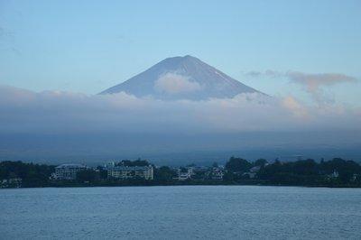 Lake Kawaguchiko mit dem Fuji-san