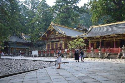 Innerhalb der Tosho-gu-Tempelanlage