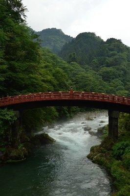 Shin-kyo, die heilige Brücke über den Daiya-gawa