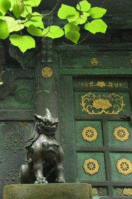 Wächter der Tosho-gu-Tempelanlage