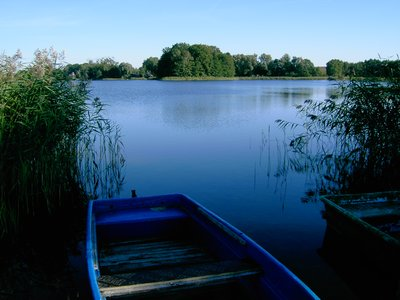 Lake in Brandenburg (Uckermark)