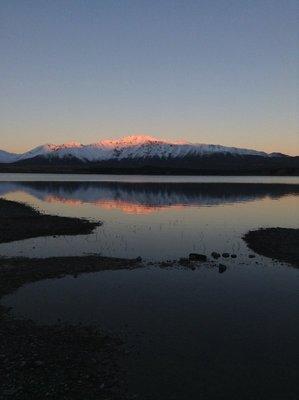 5 pm Lake Tekapo
