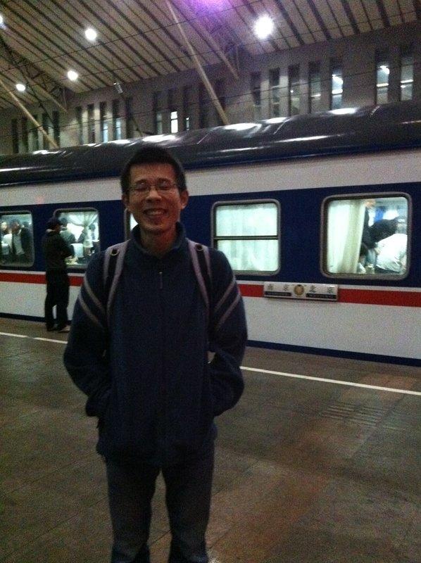 Leaving Nanjing