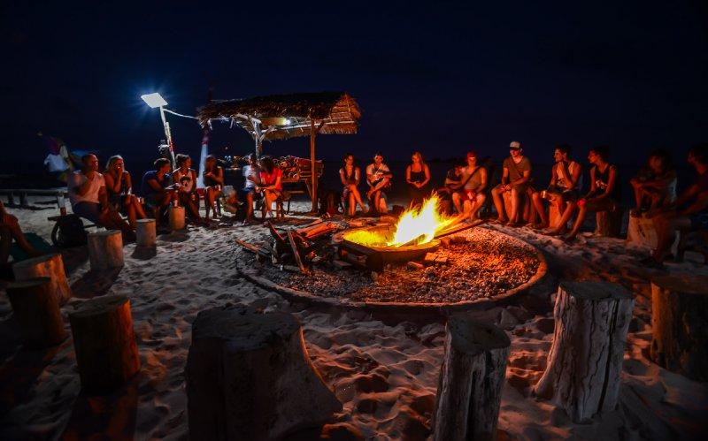 Travelers Bonfire